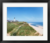 Framed Cape Cod Lighthouse (Highland) North Truro Massachusetts USA