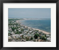Framed USA, Massachusetts, Cape Cod, Provincetown, townscape