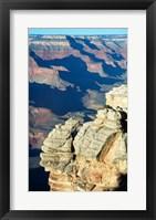 Rock Close-Up at the Grand Canyon Framed Print