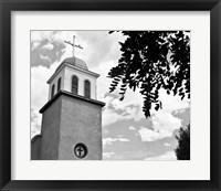 Framed Church of Los Cerrillos