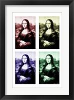 Framed Moody Mona