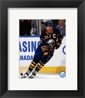 Framed Jason Pominville 2011-12 Action