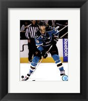 Framed Brent Burns 2011-12 Action