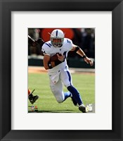 Framed Dallas Clark 2011 Action