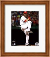Framed C.J. Wilson Game 5 of the 2011 MLB World Series Action(#20)