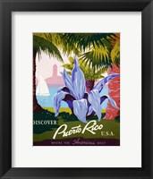 Framed Discover Puerto Rico