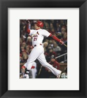 Framed Allen Craig Home Run Game 7 of the 2011 MLB World Series Action (#36)