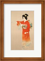 Framed Board of Tourist Industry poster, Japanese Government Railways
