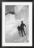 Framed Climbing Mt Mckinley