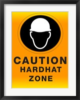 Framed Safety Hard Hat