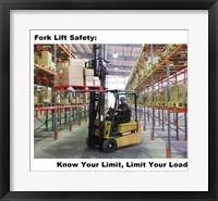 Framed Fork Lift Safety