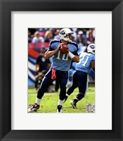 Framed Jake Locker 2011 Action