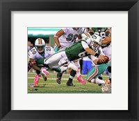 Framed Mark Sanchez 2011 Action