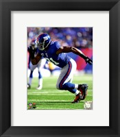 Framed Justin Tuck 2011 Action