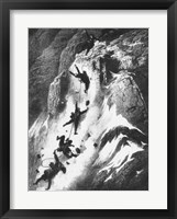Framed Matterhorn disaster Gustav Dore