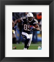 Framed Antonio Gates 2011 Action