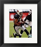 Framed Larry Fitzgerald 2011 Action