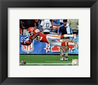 Framed Dwayne Bowe 2011 Action