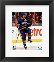 Framed Derek Roy 2011-12 Action