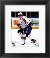 Framed Alex Ovechkin 2011-12 Action