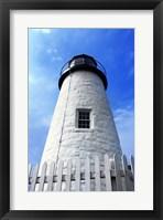 Framed Pemaquid Lighthouse
