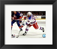 Framed Brad Richards 2011-12 Action
