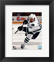 Framed Daniel Sedin 2011-12 Action