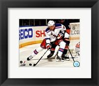 Framed Derek Stepan 2011-12 Action