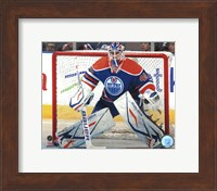 Framed Devan Dubnyk 2011-12 Action