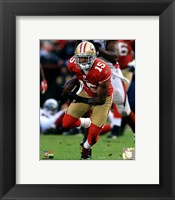 Framed Michael Crabtree 2011 Action