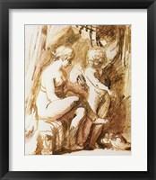 Framed Adam Elsheimer Aphrodite