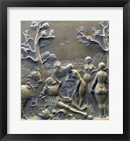 Framed Judgement of Paris, c. 1529, Solnhofen limestone Aphrodite