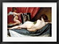 Framed Venus At Her Mirror