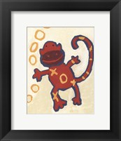 Monkey - mini Framed Print