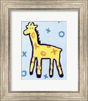 Framed Giraffe - mini