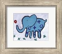 Framed Elephant - mini