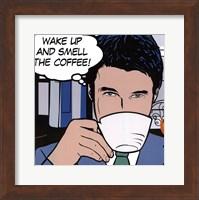 Framed Java comic  I - mini