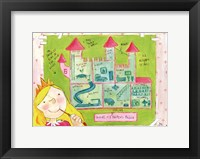Inside My Princess Palace Framed Print