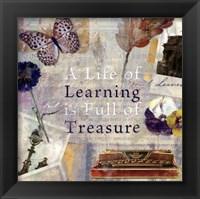 Framed Learning Treasure - mini