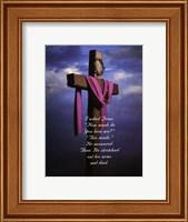 Framed I Asked Jesus - Photo