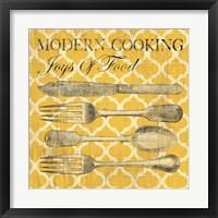 Framed Modern Cooking
