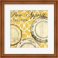 Framed Bon Appetite