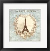 Tour de Eiffel - mini Framed Print