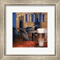 Framed Cafe Latte - mini
