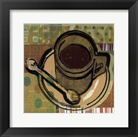 Framed Java Print I - mini