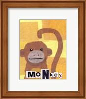 Framed Monkey - mini