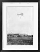 Naval Blimp, Mineola Framed Print