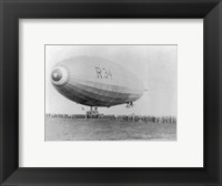 Framed Landing of British Dirigible R-34 at Mineola, Long Island, N.Y.
