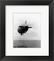 Framed L-8 Blimp