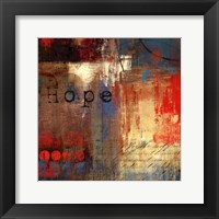 Hope - mini Framed Print
